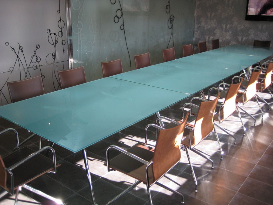 Bespoke glass boardroom tables online reality Bespoke glass furniture