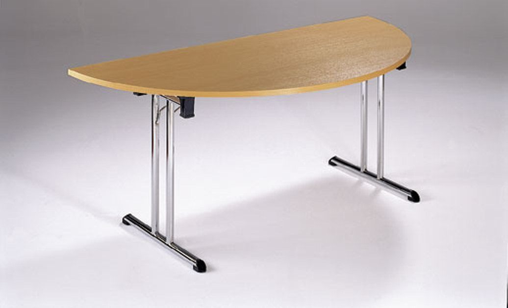 Detroit Half Moon Folding Meeting Table Online Reality