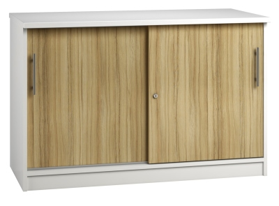 Credenza Unit - Light Wood Grain (FLAT)