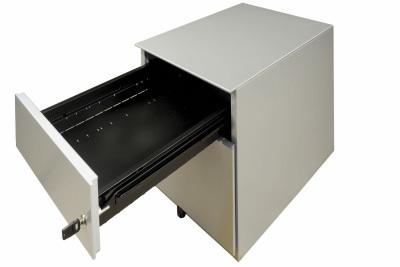 Caisson Metal Alu Mobile 2 Tiroirs Detail Tiroir Plat