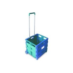 Folding-Container-Trolley-Blue-Green-356684