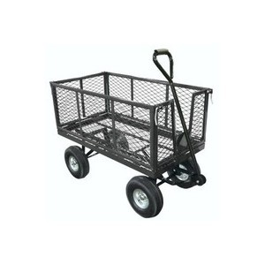 Mesh-Platform-Truck-with-Drop-Down-Sides-Black-380943