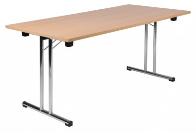 Space Folding Table Beech