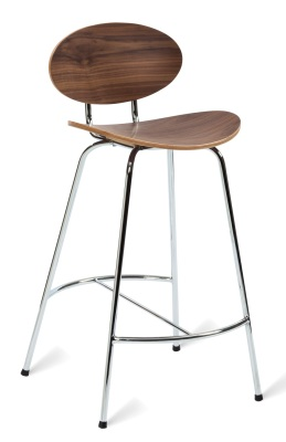 331526 Saxon 660 Bar Stool American Walnut