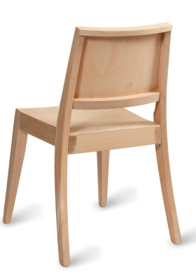 Radley Stacking Side Chair Rear