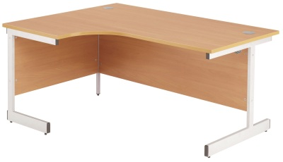 TES1612CWSRCL - Crescent Workstation Right