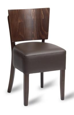 332382WM Oakham Side Chair Mocha