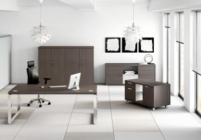 Source-dinspiration-bureau-direction-D1-pieds-ruban-chromes-decor-imitation-cedre