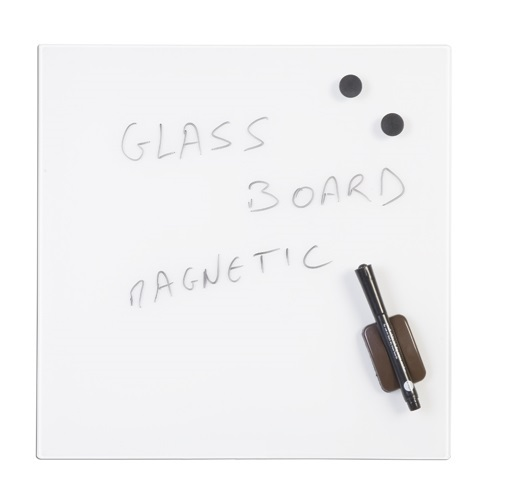 bio square magnetic glass memo boards online reality. Black Bedroom Furniture Sets. Home Design Ideas