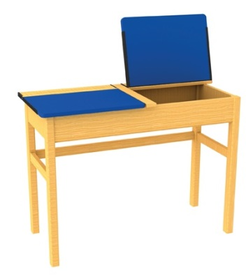 Locker Table (blue)