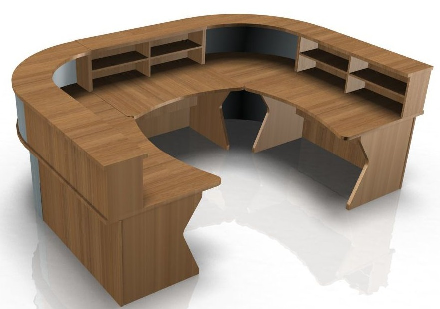 U Shape Reception Desk with K Panel Ends - Kompass ...