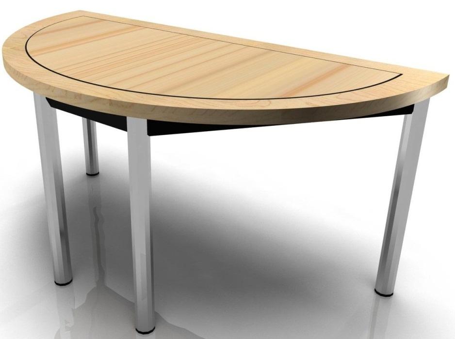 Harley Axis Half Moon Folding Boardroom Table Black Legs Online Reality