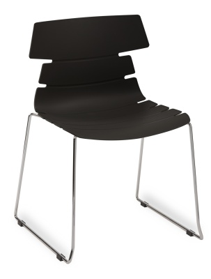 Hoxton Side Chair Frame B 360001 BLACK