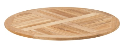 343232 Teak R80 Teak Table Top