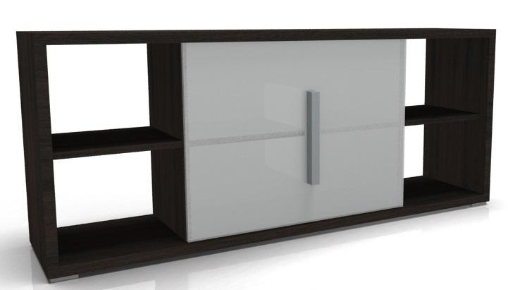 Low Designer Glass Bookcase Odessa Online Reality
