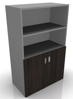Half Shelf And Cupboard