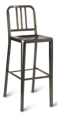Toulon High Chair Steel Gun Metal-compressor