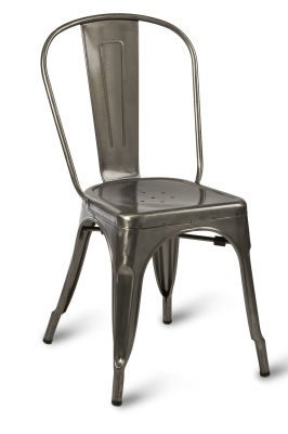 Paris Side Chair Gun Metal Clear Coating-compressor