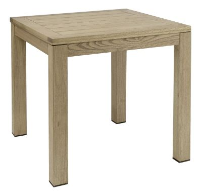 Quad Square Table Weathered