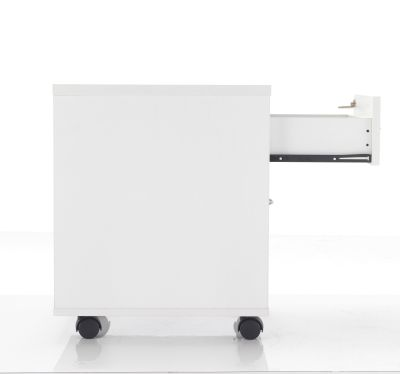 White Mobile Pedestal Drawers
