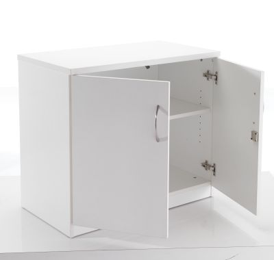 White Cupboard Opening