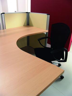 Beech Corner Desk And Chair