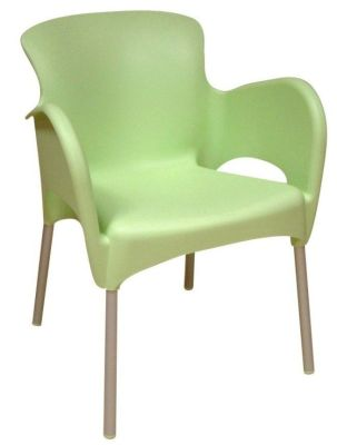 Green Outdoor Thermoplastic Chair