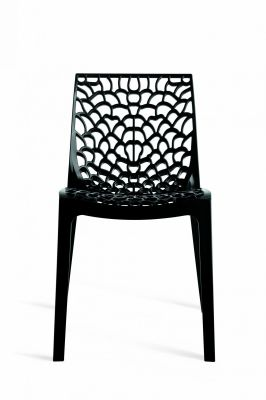 Black Designer Poly Chair