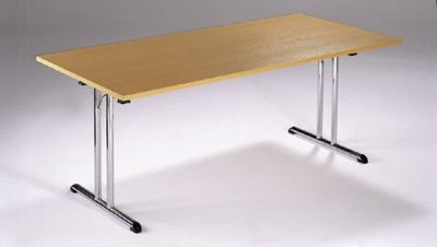 Beech Rectangular Folding Table