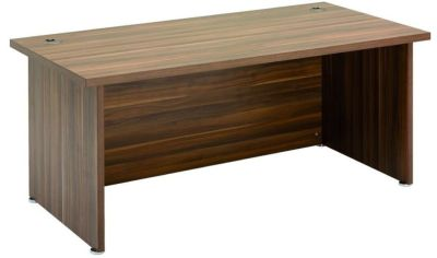 Regency Executive Rectangular Office Desk In Dark Walnut