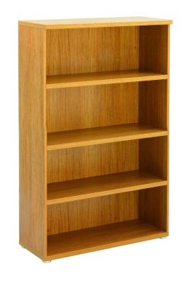 Regency Bookcase With 3 Shelves In A Light Walnut Finish