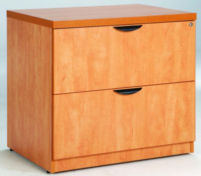 Prime Two Drawer Side Filer In Lucida Pear Supports A4 And Foolscap Files