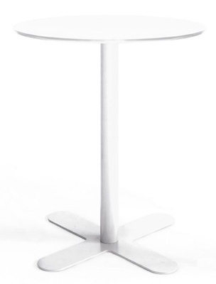 OXO All Metal Outdoor Dining Tables White
