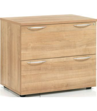 E Space Two Drawer Side Filer In A Rich Cappuccino MFC Finish