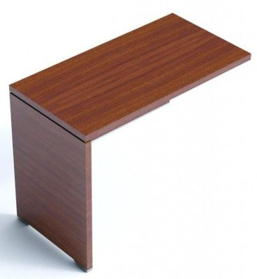 Caba Reversible Fixed Desk Return In A Walnut Finish
