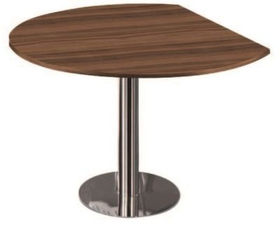 Artoline Conference Desk End In Walnut
