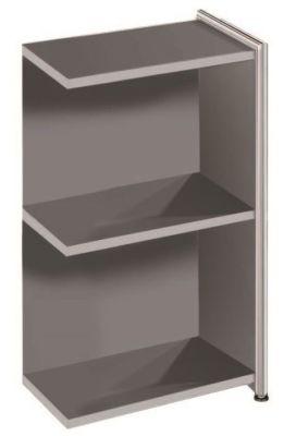Artoline Low Extension Bookshelf In Anthracite