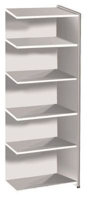 Artoline High Extension Bookshelf Wide In White