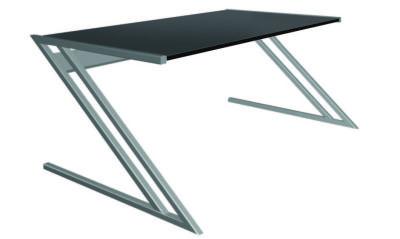 Zed Style Designer Desk In Anthracite