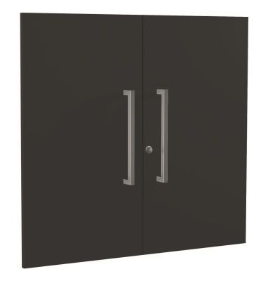 Zed Style Low Cupboard Doors In Anthracite