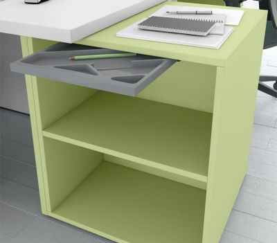 Green Supporting Cupboard