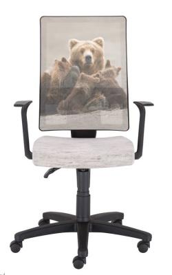 Wild Bears Office Chair