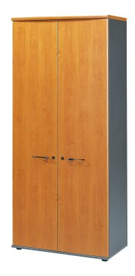Jazz Executive Cupboard With Designer Handles In Warm Alder Finish
