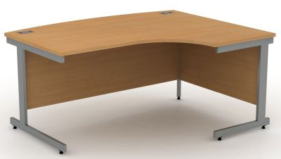 Avalon Beech Right Hand Corner Desk