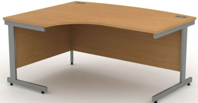 Avalon Beech Left Hand Corner Desk