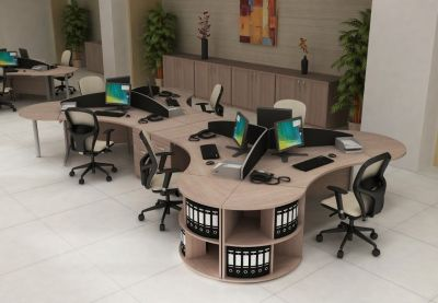 Avalon Range Of Furniture Office Design With Storage And Office Chairs In Light Oak