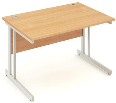 Mansfield 1200mm Desk In Beech (2)