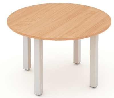 Mansfield 1200mm Round Meeting Table
