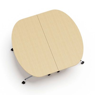 Tamar Two Half Moon Flip Top Tables