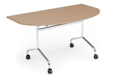 Tamar Half Moon Flip Top Table